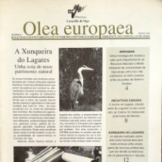 Coleccionismo de Revistas y Periódicos: OLEA EUROPAEA 1. BOLETÍN PATRIMONIO CONCELLO DE VIGO. Lote 165810738