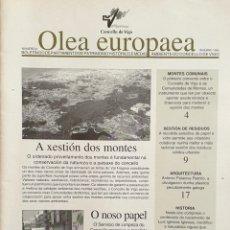 Coleccionismo de Revistas y Periódicos: OLEA EUROPAEA. NÚMERO 2. 1995. BOLETÍN CONCELLO DE VIGO. Lote 165811042