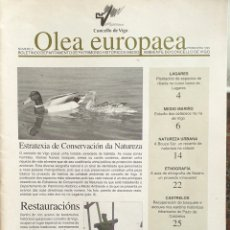 Coleccionismo de Revistas y Periódicos: OLEA EUROPAEA. NÚMERO 3. 1995. BOLETÍN CONCELLO DE VIGO. Lote 165811174