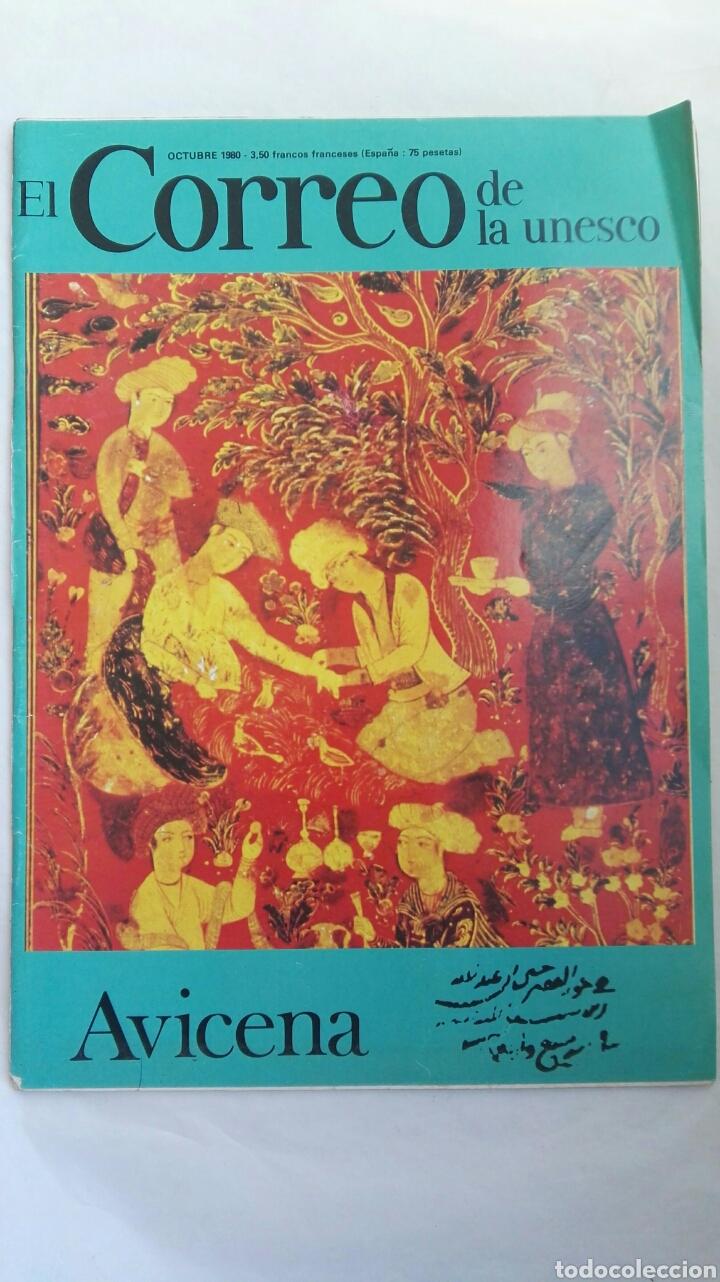 EL CORREO DE LA UNESCO AVICENA OCTUBRE 1980 (Coleccionismo - Revistas y Periódicos Modernos (a partir de 1.940) - Otros)