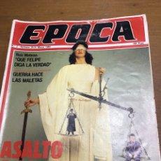 Coleccionismo de Revistas y Periódicos: ÉPOCA NÚMERO 2. Lote 165905097