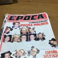 Coleccionismo de Revistas y Periódicos: ÉPOCA NÚMERO 3. Lote 165905173