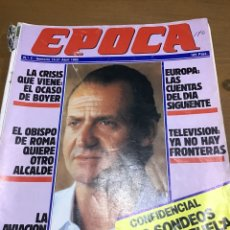 Coleccionismo de Revistas y Periódicos: ÉPOCA NÚMERO 5. Lote 165905220