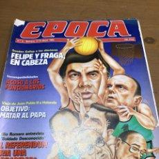Coleccionismo de Revistas y Periódicos: ÉPOCA NÚMERO 9. Lote 165905288