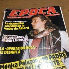 Coleccionismo de Revistas y Periódicos: ÉPOCA NÚMERO 11. Lote 165905389