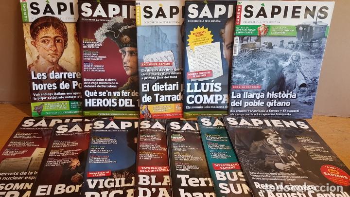 LOTE REVISTA SAPIENS / COMO NUEVAS DEL Nº 85 AL 96 / INTERESANTÍSIMOS ARTÍCULOS / OCASIÓN. (Coleccionismo - Revistas y Periódicos Modernos (a partir de 1.940) - Otros)