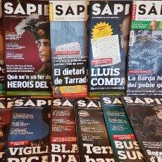 Coleccionismo de Revistas y Periódicos: LOTE REVISTA SAPIENS / COMO NUEVAS DEL Nº 85 AL 96 / INTERESANTÍSIMOS ARTÍCULOS / OCASIÓN.. Lote 165938930