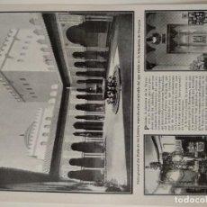 Coleccionismo de Revistas y Periódicos: HOJA REVISTA ORIGINAL ANTIGUA. ESPAÑA EN LA EXPOSICION DE BRUSELAS. Lote 165944670