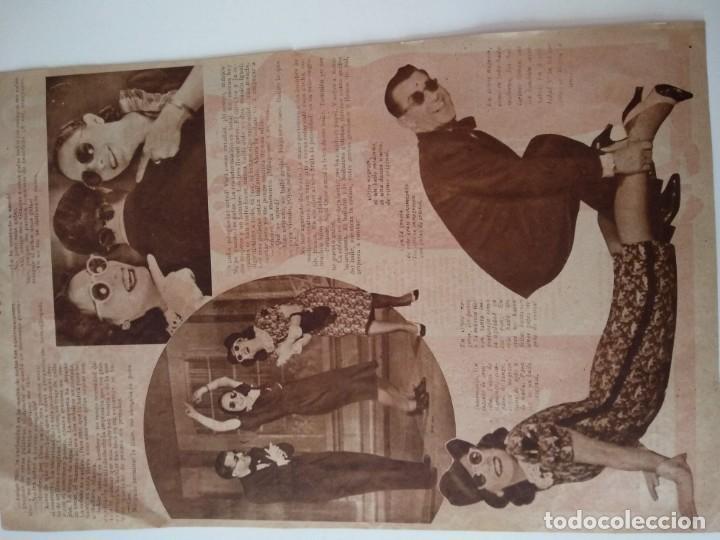 Coleccionismo de Revistas y Periódicos: REPORTAJE PRENSA ORIGINAL ANTIGUO.BAILE NUEVO, OJOS NEGROS - Foto 2 - 165952414