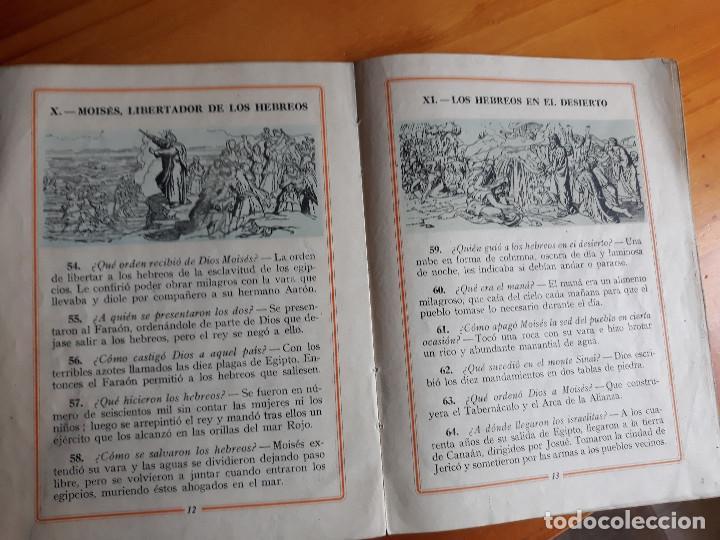 Coleccionismo de Revistas y Periódicos: CARTILLA MODERNA DE HISTORIA SAGRADA. ED. LUIS VIVES 1957 - Foto 2 - 165970458