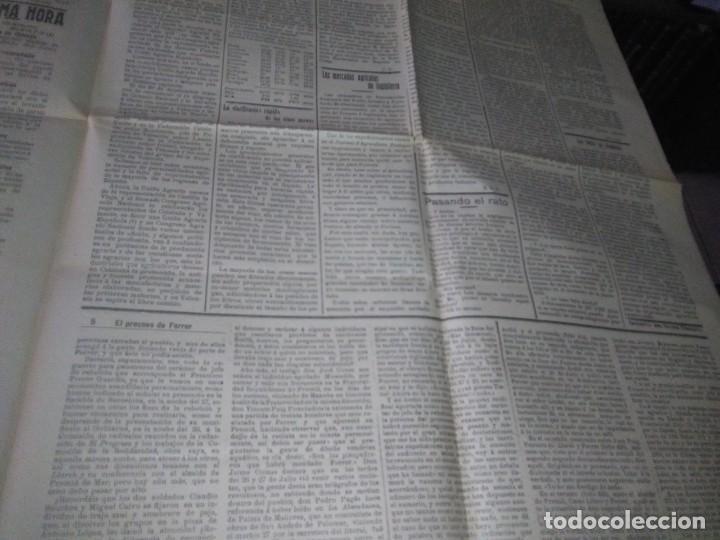 Coleccionismo de Revistas y Periódicos: DIARIO VALLADOLID 1909 LOS ALCADES DE REAL ORDEN DIPUTANCION PROVINCAL CONSEJO DE GUERRA VICENTE AMB - Foto 6 - 166018534