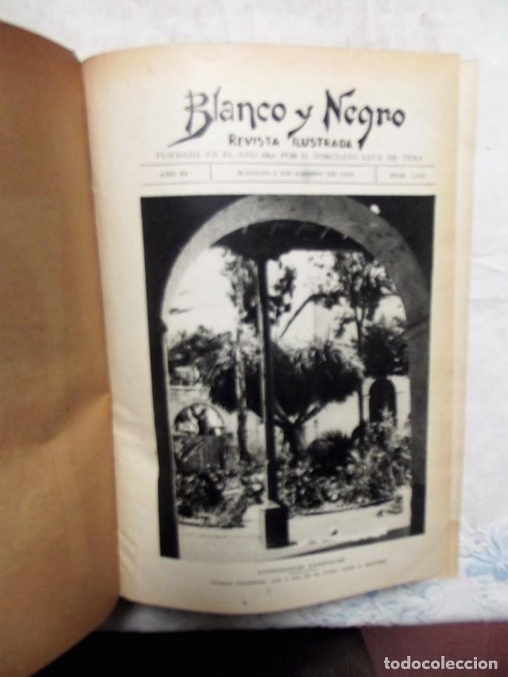 Coleccionismo de Revistas y Periódicos: REVISTA BLANCO Y NEGRO 1928 TOMO 3 - Foto 2 - 166027774