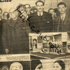Coleccionismo de Revistas y Periódicos: DIA GRAFICO GUERRA CIVIL 13-2-1938 SBERT MIRAVITLLES MIAJA ZUGAGOITIA EL AGUILA ZALAMEA SERENA . Lote 166103742