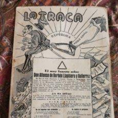 Collezionismo di Riviste e Giornali: REVISTA LA TRACA SATÍRICA, ANTIFASCISTA, ANTICLERICAL (VALENCIA)- SIN N°!, 21 ABRIL1931. RARA!!!!.. Lote 179517061