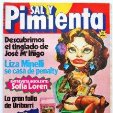 Coleccionismo de Revistas y Periódicos: SAL Y PIMIENTA Nº 11. DICIEMBRE 1979. Lote 166157830