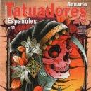 Coleccionismo de Revistas y Periódicos: ANUARIO TATUADORES ESPAÑOLES 2019 N. 11 - TATTOO LIFE (NUEVA). Lote 166258502