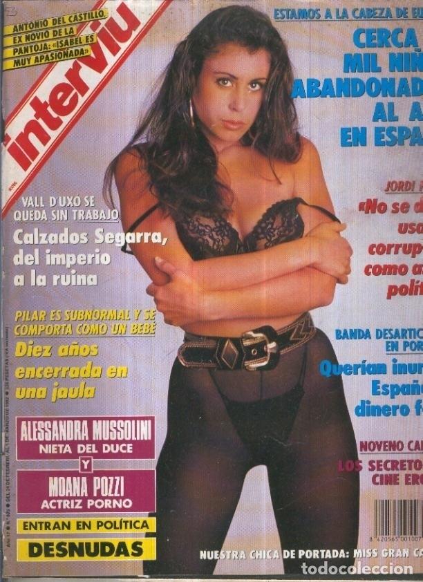 INTERVIU NUMERO 0825: ALESSANDRA MUSSOLINI Y MOANA POZZI (Coleccionismo - Revistas y Periódicos Modernos (a partir de 1.940) - Otros)