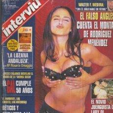 Coleccionismo de Revistas y Periódicos: INTERVIU NUMERO 1102: MONICA ESTARREADO. Lote 56821625