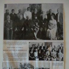 Coleccionismo de Revistas y Periódicos: HOJA REVISTA ORIGINAL 1926. MARUJA LOPETEGUI EN BARRANQUILLA, COLOMBIA. Lote 166367666