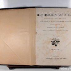 Coleccionismo de Revistas y Periódicos: LA ILUSTRACIÓN ARTÍSTICA. AÑO 1895. EDITORES MONTANER Y SIMÓN.. Lote 166400618