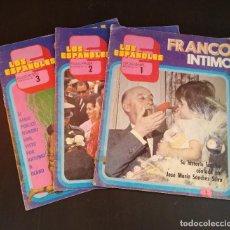 Coleccionismo de Revistas y Periódicos: LOS ESPAÑOLES - Nº1 Nº2 Nº3 - 1972 - FRANCO INTIMO - PRÍNCIPE DE ESPAÑA - DALÍ - FASCÍCULOS. Lote 166450174