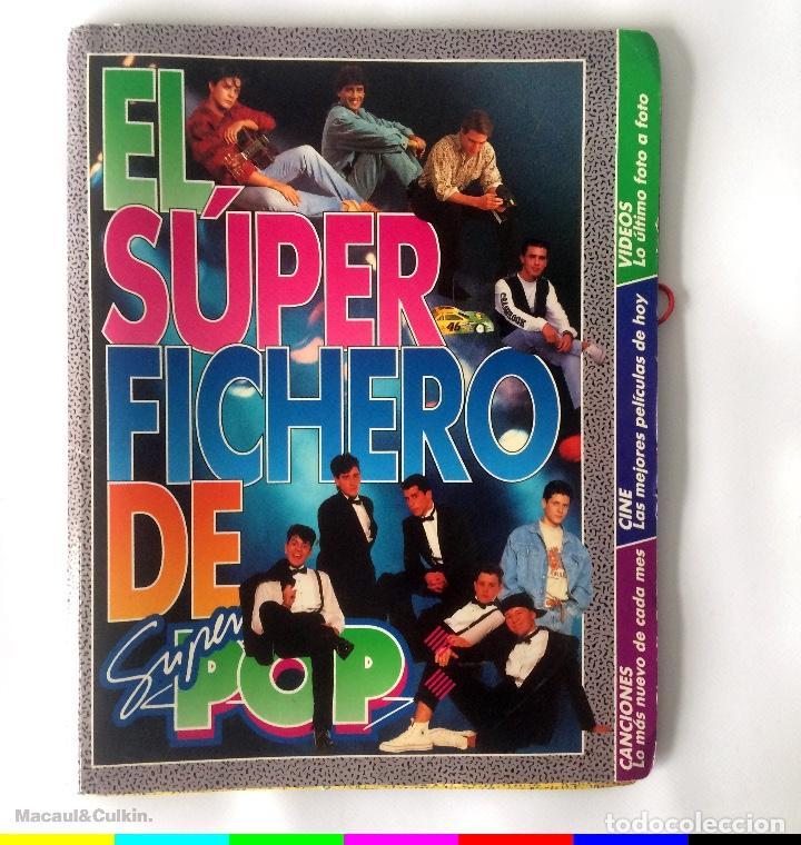 CARPETA SUPER POP - EL SUPER FICHERO (Coleccionismo - Revistas y Periódicos Modernos (a partir de 1.940) - Otros)