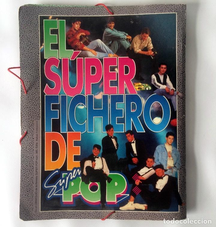 Coleccionismo de Revistas y Periódicos: CARPETA SUPER POP - EL SUPER FICHERO - Foto 2 - 166464086