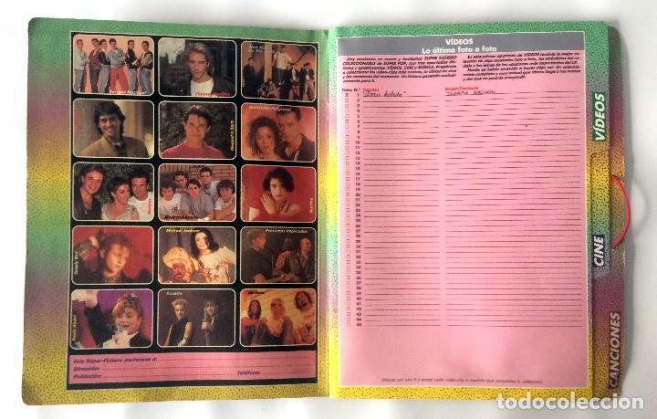 Coleccionismo de Revistas y Periódicos: CARPETA SUPER POP - EL SUPER FICHERO - Foto 4 - 166464086