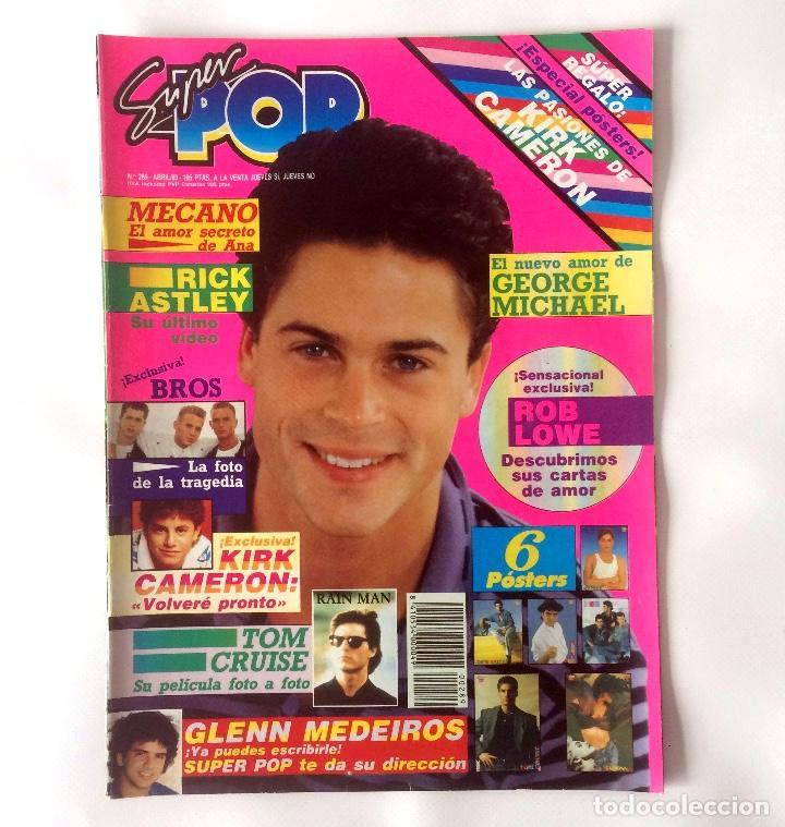 REVISTA SUPER POP - NÚMERO 289 - ABRIL 89 (Coleccionismo - Revistas y Periódicos Modernos (a partir de 1.940) - Otros)