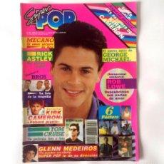 Coleccionismo de Revistas y Periódicos: REVISTA SUPER POP - NÚMERO 289 - ABRIL 89. Lote 166464194