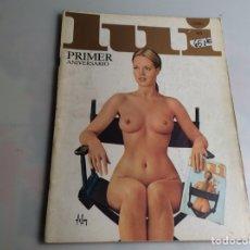 Coleccionismo de Revistas y Periódicos: LUI Nº 12 DICIEMBRE 1977 - ROMY SGHINEIDER (REVISTA EROTICA - AÑOS 80). Lote 166567266