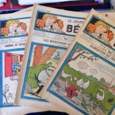 Coleccionismo de Revistas y Periódicos: LE JOURNAL DE BEBE 1938 PUBLISHED IN FRANCE ORIGINAL. Lote 166672201