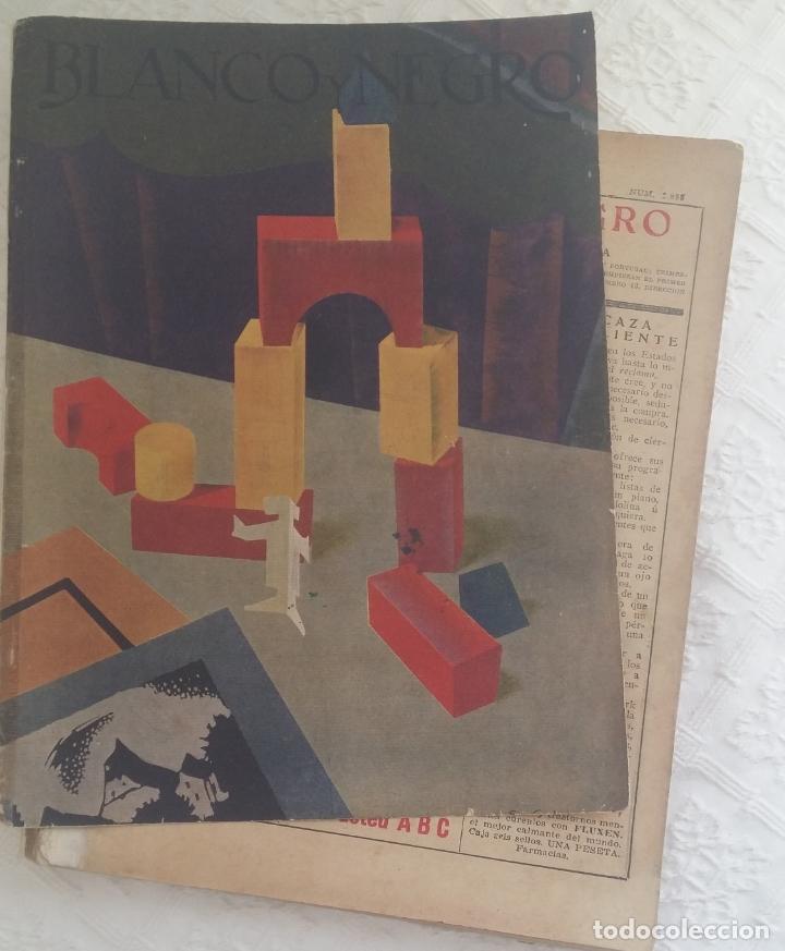 Coleccionismo de Revistas y Periódicos: Revista Blanco y Negro. Año 37. Madrid 11 de septiembre de 1927 - Foto 2 - 166682318