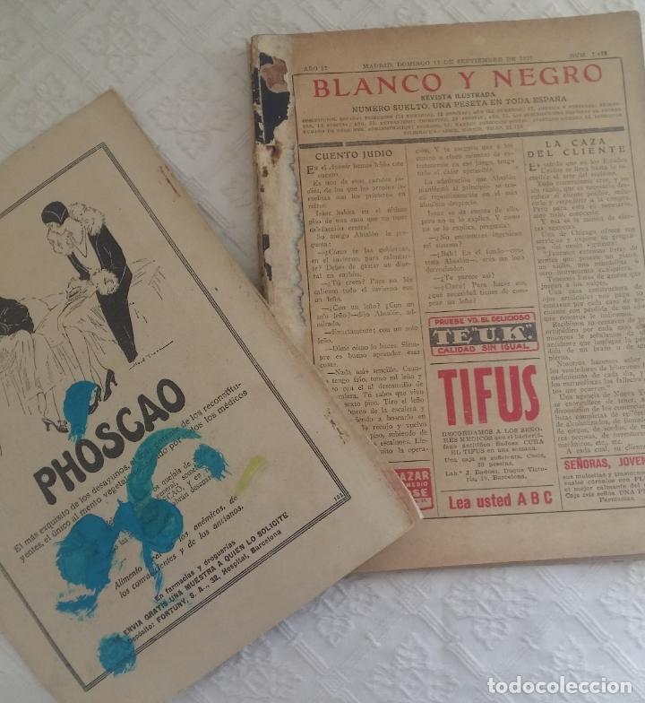 Coleccionismo de Revistas y Periódicos: Revista Blanco y Negro. Año 37. Madrid 11 de septiembre de 1927 - Foto 3 - 166682318