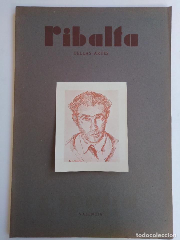 Coleccionismo de Revistas y Periódicos: Ribalta. Bellas Artes. Valencia - Foto 6 - 166723622