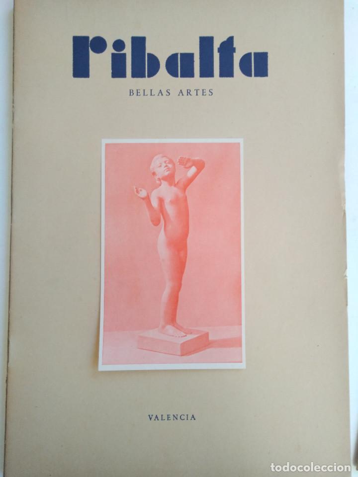 Coleccionismo de Revistas y Periódicos: Ribalta. Bellas Artes. Valencia - Foto 8 - 166723622