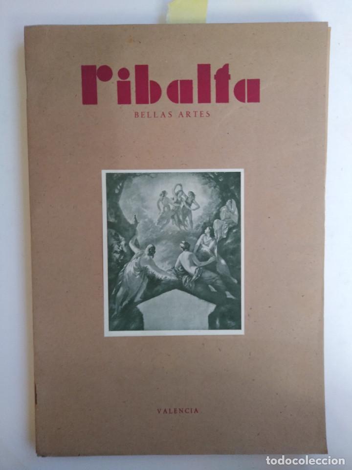 Coleccionismo de Revistas y Periódicos: Ribalta. Bellas Artes. Valencia - Foto 12 - 166723622
