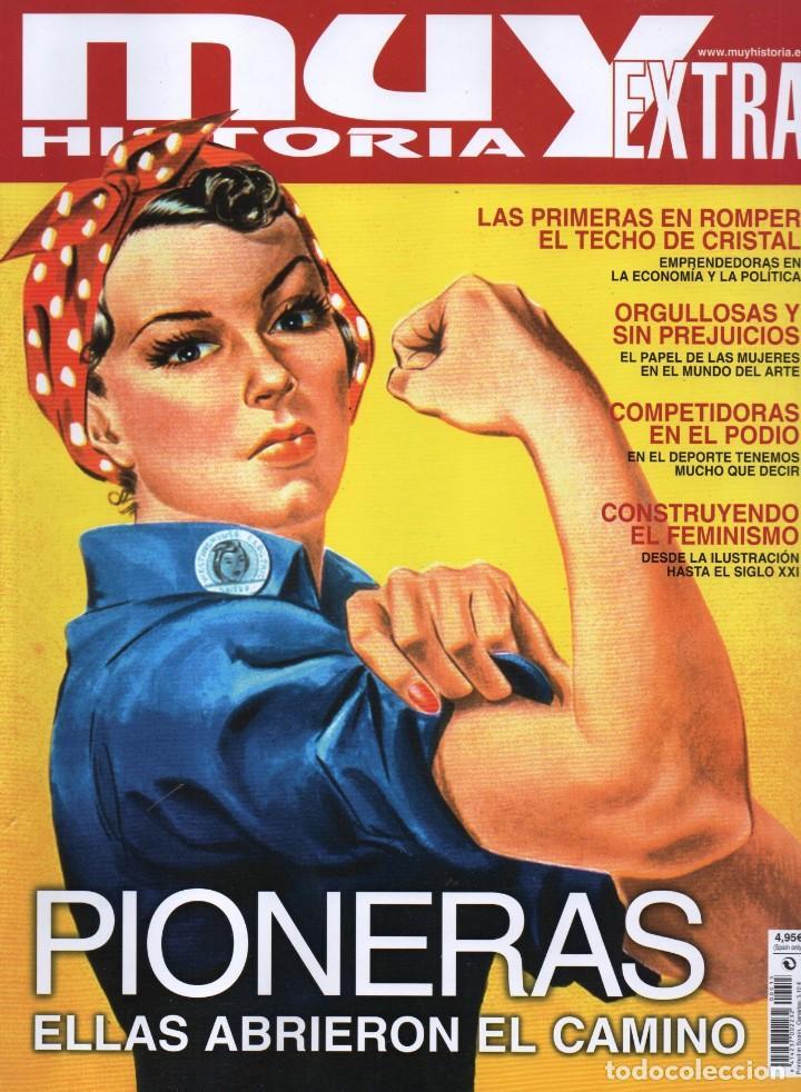 MUY HISTORIA EXTRA N. 15 - EN PORTADA: PIONERAS (NUEVA) (Coleccionismo - Revistas y Periódicos Modernos (a partir de 1.940) - Otros)