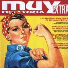 Coleccionismo de Revistas y Periódicos: MUY HISTORIA EXTRA N. 15 - EN PORTADA: PIONERAS (NUEVA). Lote 166813089