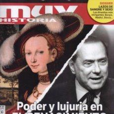 Coleccionismo de Revistas y Periódicos: MUY HISTORIA N. 90 - EN PORTADA: PODER Y LUJURIA EN EL RENACIMIENTO (NUEVA). Lote 166813170