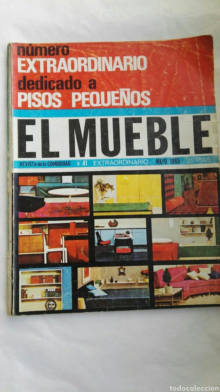 REVISTA EL MUEBLE MAYO 1965 (Coleccionismo - Revistas y Periódicos Modernos (a partir de 1.940) - Otros)