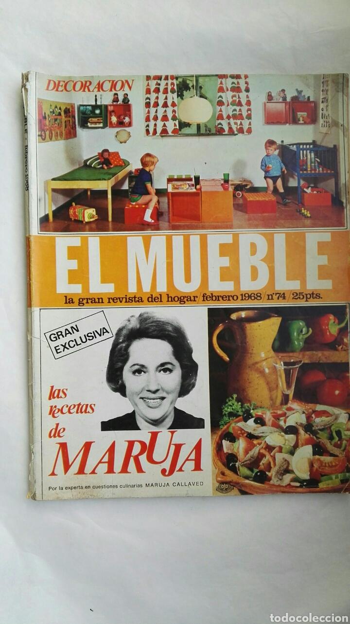 REVISTA EL MUEBLE FEBRERO 1968 (Coleccionismo - Revistas y Periódicos Modernos (a partir de 1.940) - Otros)