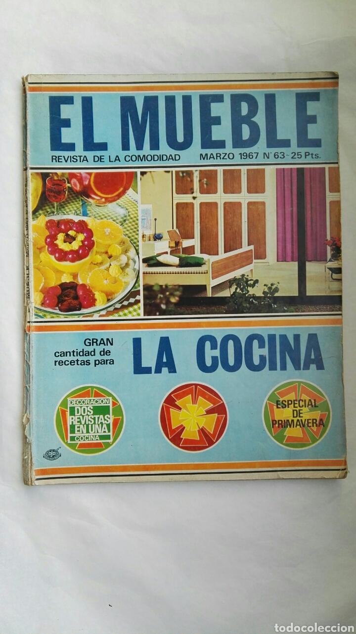 REVISTA EL MUEBLE MARZO 1967 (Coleccionismo - Revistas y Periódicos Modernos (a partir de 1.940) - Otros)