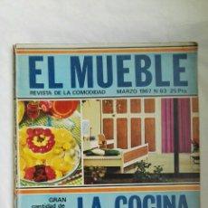 Coleccionismo de Revistas y Periódicos: REVISTA EL MUEBLE MARZO 1967. Lote 166849601