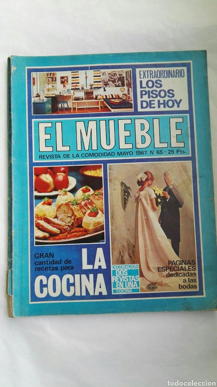 REVISTA EL MUEBLE MAYO 1967 ESPECIAL BODAS (Coleccionismo - Revistas y Periódicos Modernos (a partir de 1.940) - Otros)