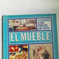Coleccionismo de Revistas y Periódicos: REVISTA EL MUEBLE MAYO 1967 ESPECIAL BODAS. Lote 166849666
