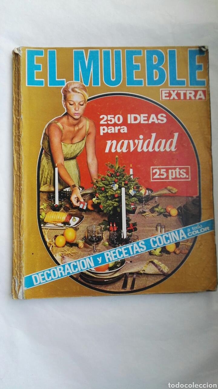 REVISTA EL MUEBLE EXTRA NAVIDAD 1965 (Coleccionismo - Revistas y Periódicos Modernos (a partir de 1.940) - Otros)