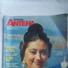 Coleccionismo de Revistas y Periódicos: REVISTA SEMANAL ANTENA MARZO 1987 FALLAS. Lote 166895873