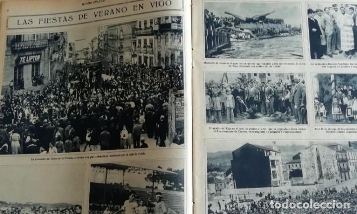 Coleccionismo de Revistas y Periódicos: mundo grafico 1931 VIGO - ZUMAYA -ALBALATE DE CINCA (HUESCA)-ALGEMESI - Foto 2 - 166907652