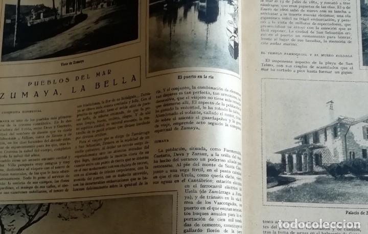 Coleccionismo de Revistas y Periódicos: mundo grafico 1931 VIGO - ZUMAYA -ALBALATE DE CINCA (HUESCA)-ALGEMESI - Foto 3 - 166907652